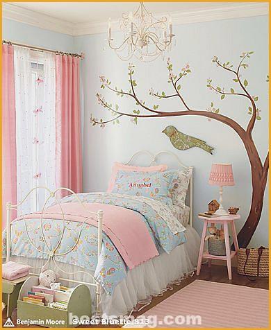 romantic children's room