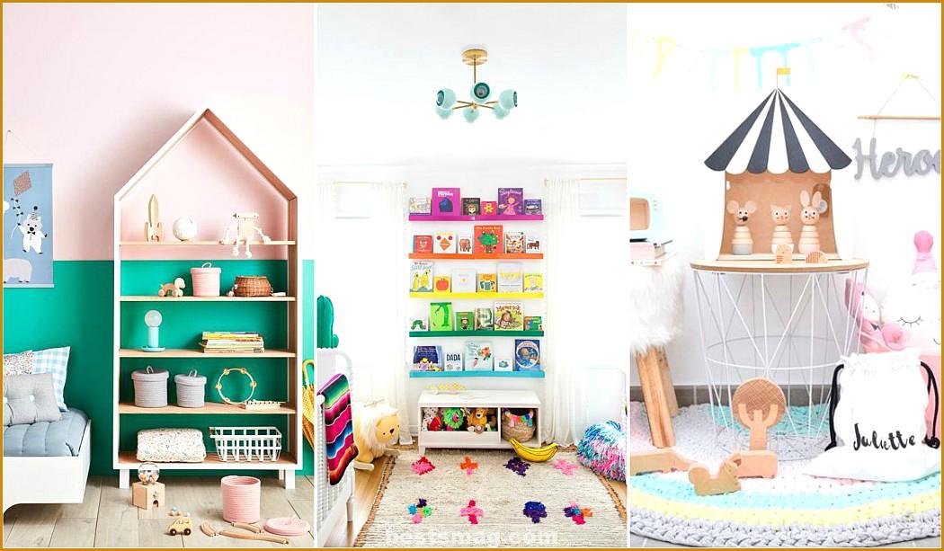 Shelving trends 2018 * The most original shelves for children
