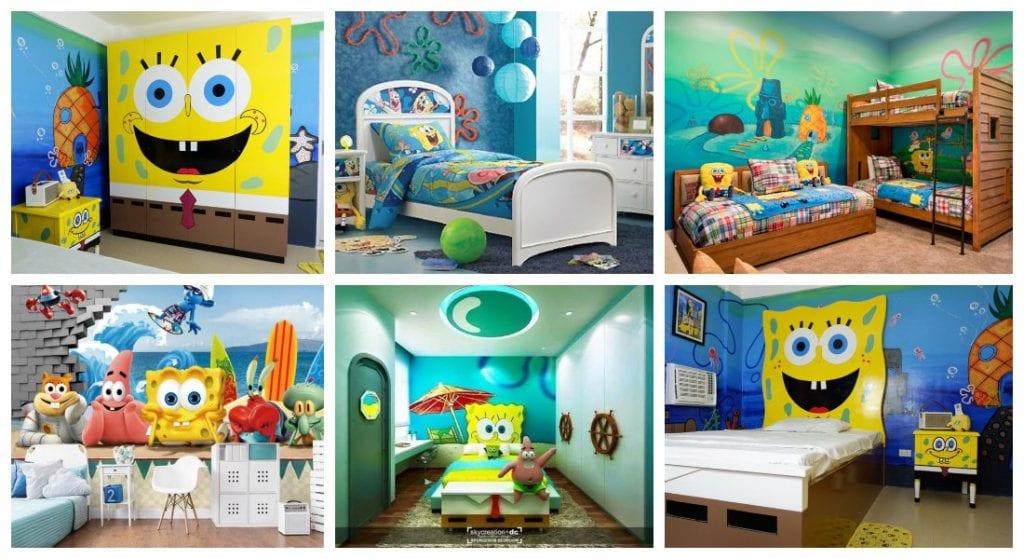 Spongebob bedrooms for kids