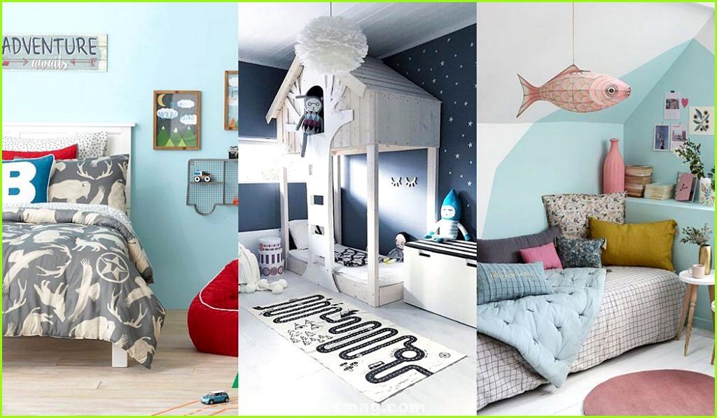 Paint children's rooms blue